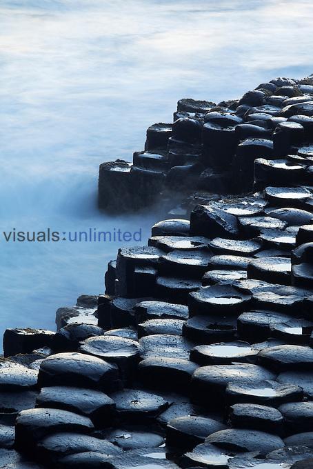 Basalt columns, Giant's Causeway, County Antrim, Northern Ireland, UK