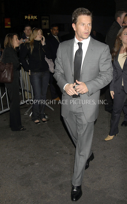 WWW.ACEPIXS.COM . . . . ....December 7, 2007, New York City....Mark Wahlberg attends the NY Film Critics Awards at the Supper Club. ....Please byline: KRISTIN CALLAHAN - ACEPIXS.COM.. . . . . . ..Ace Pictures, Inc:  ..(212) 243-8787 or (646) 679 0430..e-mail: picturedesk@acepixs.com..web: http://www.acepixs.com