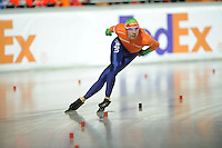 SCHAATSEN: BOEDAPEST: Essent ISU European Championships, 07-01-2012, 5000m Men, Ted Jan Bloemen NED, ©foto Martin de Jong