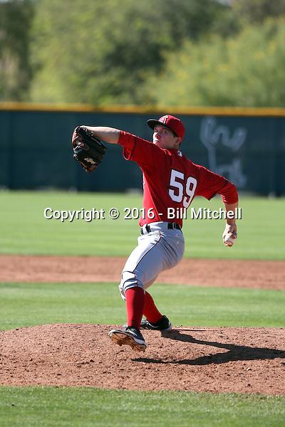 Sam Pastrone - Los Angeles Angels 2016 spring training (Bill Mitchell)