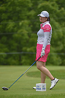 Angel Yin (USA) watches her tee shot on 11 during round 4 of the 2018 KPMG Women's PGA Championship, Kemper Lakes Golf Club, at Kildeer, Illinois, USA. 7/1/2018.<br /> Picture: Golffile | Ken Murray<br /> <br /> All photo usage must carry mandatory copyright credit (&copy; Golffile | Ken Murray)