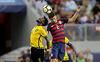 Santa Clara, CA - Wednesday July 26, 2017: Jorge Villafaña during the 2017 Gold Cup Final Championship match between the men's national teams of the United States (USA) and Jamaica (JAM) at Levi's Stadium.