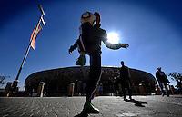 Soccer Freestyle davanti al Soccer Stadium <br /> Argentina Corea del Sud 4-1 - Argentina vs South Korea 4-1<br /> Campionati del Mondo di Calcio Sudafrica 2010 - World Cup South Africa 2010<br /> Soccer Stadium, Johannesburg, 17 / 06 / 2010<br /> © Giorgio Perottino / Insidefoto