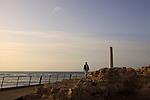 Israel, Tel Aviv-Yafo, Hill's column, a memorial to the British crossing of the Yarkon river in 1917