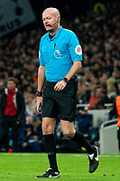 Referee Lee Mason during the match between Tottenham Hotspur and Bournemouth<br /> <br /> Photographer Stephanie Meek/CameraSport<br /> <br /> The Premier League - Tottenham Hotspur v Bournemouth - Saturday 30th November 2019 - Tottenham Hotspur Stadium - London<br /> <br /> World Copyright © 2019 CameraSport. All rights reserved. 43 Linden Ave. Countesthorpe. Leicester. England. LE8 5PG - Tel: +44 (0) 116 277 4147 - admin@camerasport.com - www.camerasport.com