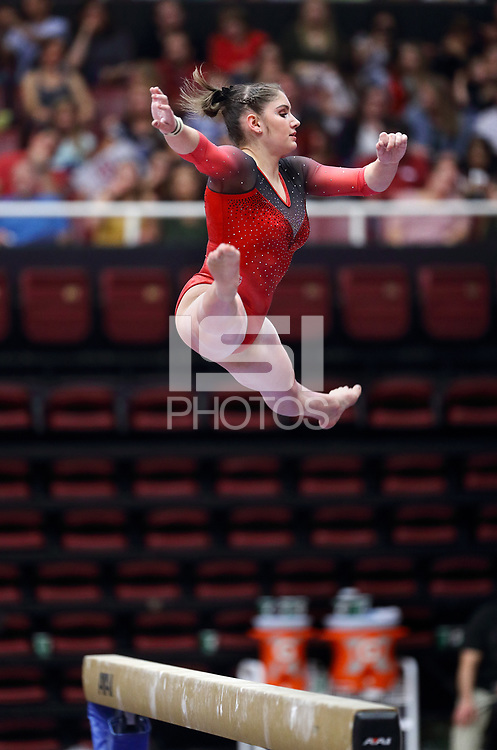 Stanford, CA; January 27, 2019; Women's Gymnastics, Stanford vs UCLA.
