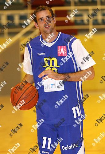 2010-08-17 / Seizoen 2010-2011 / Basketbal / Sint Jan / Vincent Verbeeck..Foto: mpics