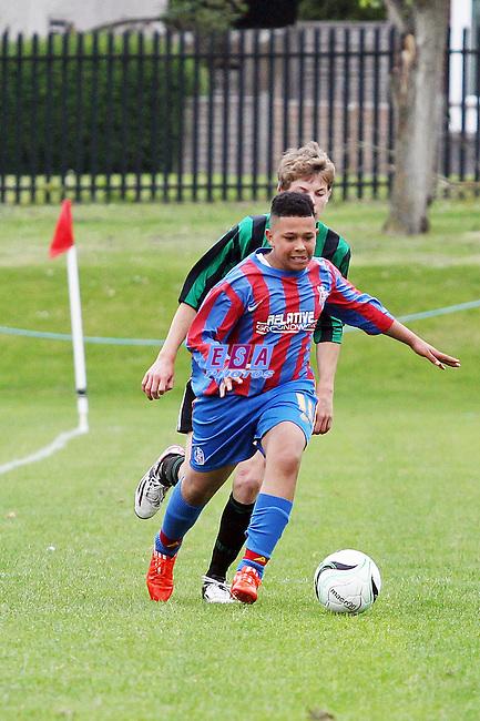 BROOMWOOD COLTS v PALACE GUARD<br /> LONDON COUNTY SATURDAY YOUTH LEAGUE U15 CUP FINAL SATURDAY 23RD MAY 2015 LONG LANE FC