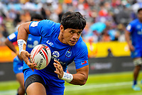 Samoa v United States. Day one of the 2018 HSBC World Sevens Series Hamilton at FMG Stadium in Hamilton, New Zealand on Saturday, 3 February 2018. Photo: Dave Lintott / lintottphoto.co.nz