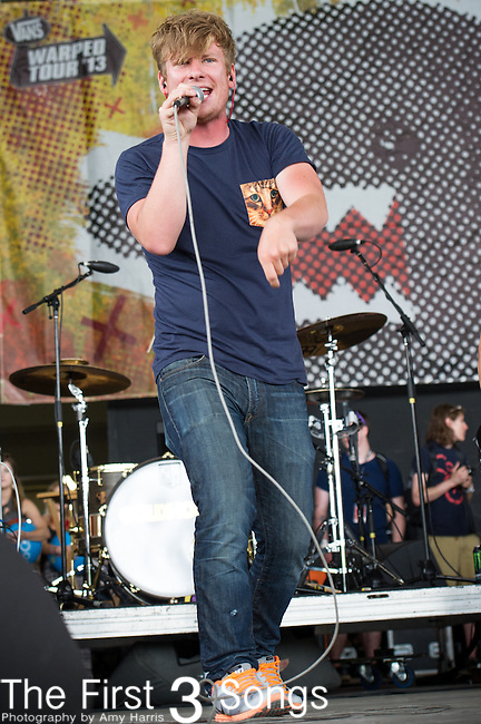 "Grant Harris ""Goldhouse"" performs during the Vans Warped Tour at the Klipsch Music Center in Indianapolis, IN."