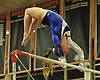 Meghan Maquet of Long Beach performs on the uneven bars during the Nassau County varsity gymnastics individual championships and state qualifiers at Hicksville High School on Tuesday, Feb. 9, 2016.