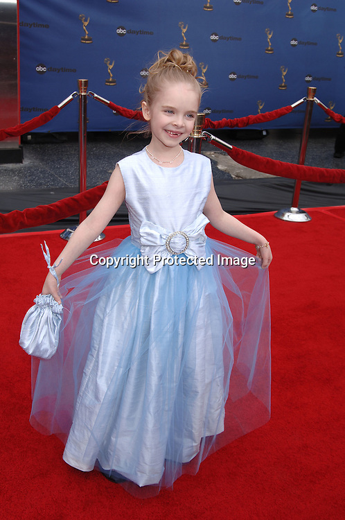 Darcy Rose Byrnes arriving at The 33rd Annual Daytime Emmy Awards on April 28, 2006 at The Kodak Theatre...Robin Platzer, Twin Images