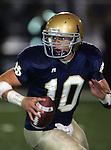 Servite @ Notre Dame - Sherman Oaks (CIF Southern Section).Dayne Crist (10).Notre Dame High School Stadium.Sherman Oaks, CA (Los Angeles) - October 5, 2007.KN1R8357.CREDIT: Dirk Dewachter