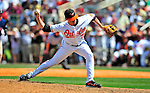 14 March 2009: Baltimore Orioles' pitcher Andy Mitchell in action during a Spring Training game against the Boston Red Sox at Fort Lauderdale Stadium in Fort Lauderdale, Florida. The Orioles defeated the Red Sox 9-8 in the Grapefruit League matchup. Mandatory Photo Credit: Ed Wolfstein Photo