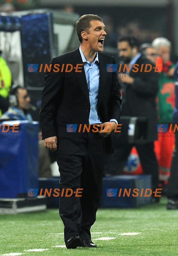 "Viktor GONCHARENKO (Bate Borisov).Milano 19/10/2011 Stadio ""Giuseppe Meazza"".Champions League 2011/2012.Football Calcio Milan Vs Bate Borisov .Foto Insidefoto Alessandro Sabattini."