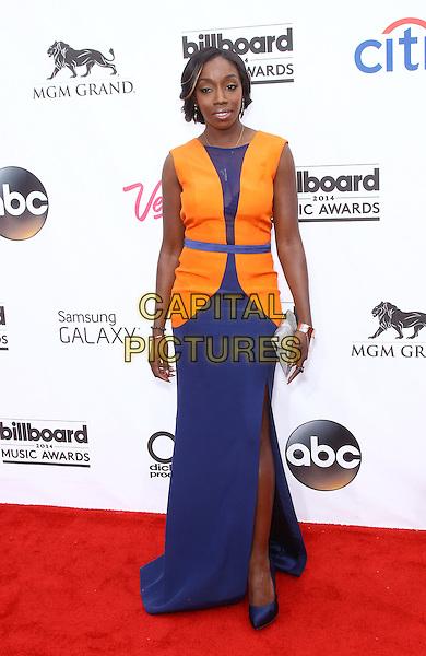 18 May 2014 - Las Vegas, Nevada - Estelle.  2014 Billboard Music Awards Red Carpet at MGM Grand. <br /> CAP/ADM/MJT<br /> &copy; MJT/AdMedia/Capital Pictures