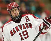 Alex Killorn (Harvard - 19) - The Harvard University Crimson defeated the visiting Colgate University Raiders 4-2 on Saturday, November 12, 2011, at Bright Hockey Center in Cambridge, Massachusetts.