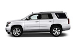 Driver side profile view of a 2017 Chevrolet Tahoe 2WD LT 5 Door SUV