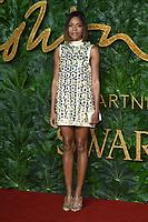 LONDON, UK. December 10, 2018: Naomie Harris at The Fashion Awards 2018 at the Royal Albert Hall, London.<br /> Picture: Steve Vas/Featureflash