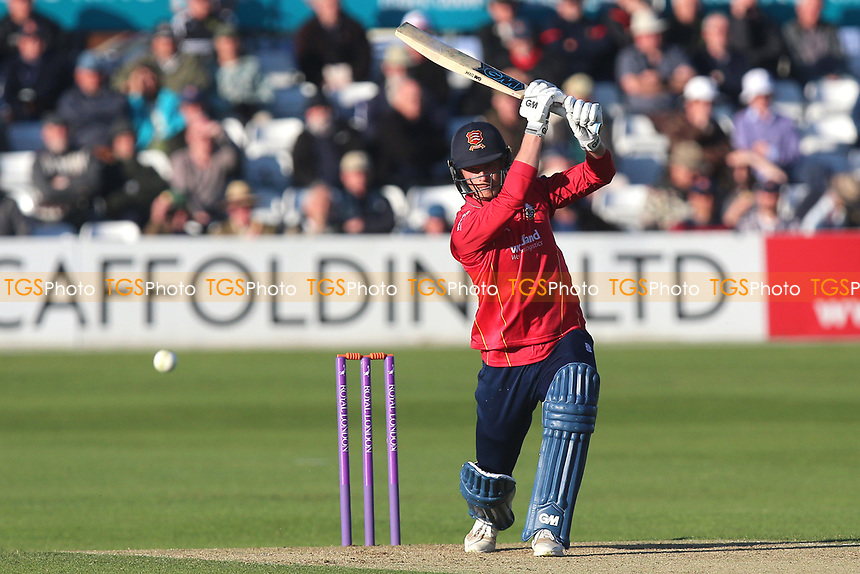 Tom Westley hits four runs for Essex during Essex Eagles vs Middlesex, Royal London One-Day Cup Cricket at The Cloudfm County Ground on 12th May 2017
