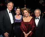 Bobby and Phoebe Tudor with Renee Fleming and dean Robert Yekovich at the Rice University Shepherd School of Music gala Thursday Feb. 19, 2009.(Dave Rossman/For the Chronicle)