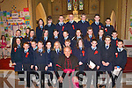 Children from Listry National School who were confirmed by Bishop Bill Murphy in Church of the Sacred Heart, Milltown, last Wednesday..