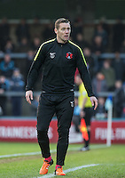 Player Manager Kevin Nolan during the Sky Bet League 2 match between Wycombe Wanderers and Leyton Orient at Adams Park, High Wycombe, England on 23 January 2016. Photo by Andy Rowland / PRiME Media Images.