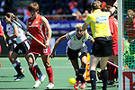 The Hague, Netherlands, June 13: Kristina Hillmann #9 of Germany looks on during the field hockey placement match (Women - Place 7th/8th) between Korea and Germany on June 13, 2014 during the World Cup 2014 at Kyocera Stadium in The Hague, Netherlands. Final score 4-2 (2-0)  (Photo by Dirk Markgraf / www.265-images.com) *** Local caption ***