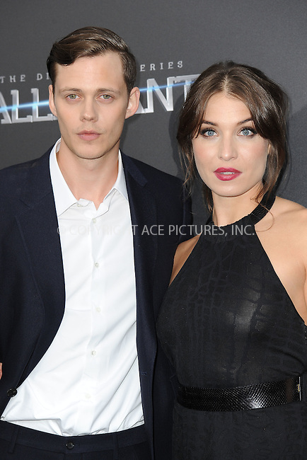 WWW.ACEPIXS.COM<br /> March 14, 2016 New York City<br /> <br /> Bill Skarsgard attending'The Divergent Series: Allegiant' New York Premiere at AMC Loews Lincoln Square 13 theater on March 14, 2016 in New York City.<br /> <br /> Credit: Kristin Callahan/ACE Pictures<br /> Tel: (646) 769 0430<br /> e-mail: info@acepixs.com<br /> web: http://www.acepixs.com