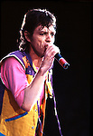 Rolling Stones 1982 Mick Jagger..