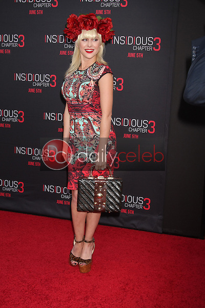 Renee Olstead at the &quot;Insidious Chapter 3&quot; Premiere, TCL Chinese Theater, Hollywood, CA 06-04-15<br /> David Edwards/DailyCeleb.com 818-249-4998