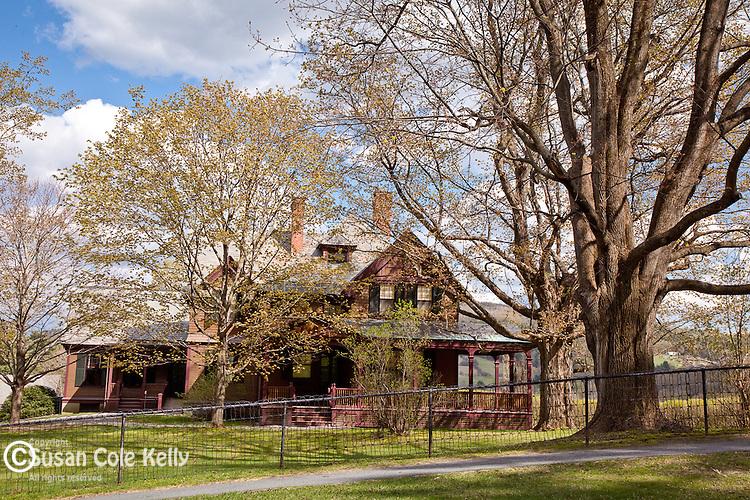 Billings farmhouse in Woodstock, VT, USA