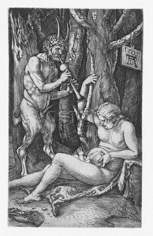 The satyr family by Albrecht Dürer, 1505