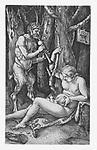 The satyr family by Albrecht Dürer, 1505