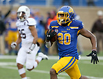 SIOUX FALLS, SD - NOVEMBER 3: Pierre Strong, Jr. #20 from South Dakota State breaks loose for a touchdown against Missouri State during their game Saturday afternoon at Dana J. Dykhouse Stadium in Brookings. (Photo by Dave Eggen/Inertia)