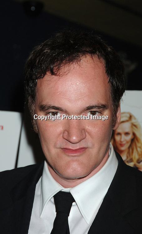 "Quintin Tarantino..at The World Premiere of "" My Super Ex-Girlfriend"" starring Uma Thurman and Luke Wilson on ..July 12, 2006 at The Clearview Chelsea 23rd Street Theatre. ..Robin Platzer, Twin Images"