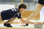 Tsuyoshi Yamaguchi (SC Karuizawa), SEPTEMBER 16, 2013 - Curling : Olympic qualifying Japan Curling Championships Men's Final second Mach between SC Karuizawa 7-9 Sapporo at Dogin Curling Studium, Sapporo, Hokkaido, Japan. (Photo by Yusuke Nakanishi/AFLO SPORT)