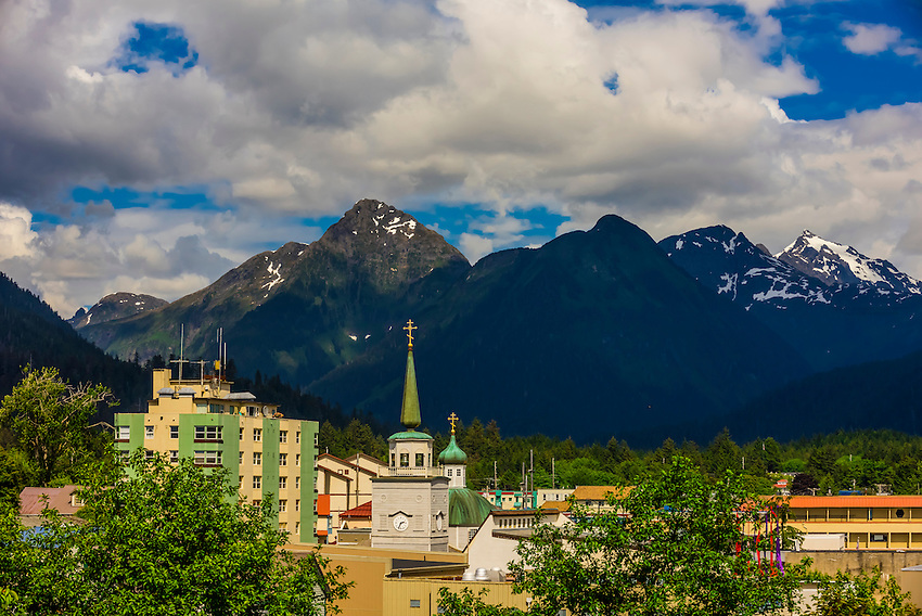 St. Michael's Russian Orthodox Cathedral, Sitka, Alaska USA.