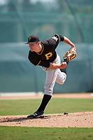 Pittsburgh Pirates Tanner Anderson (23) during a minor league Spring Training game against the New York Yankees on April 1, 2016 at Pirate City in Bradenton, Florida.  (Mike Janes/Four Seam Images)