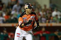 Carlos Gastelum,durante el tercer juego de la serie de el partido Naranjeros de Hermosillo vs Venados de Mazatlan Sonora en el Estadio Sonora. 10 noviembre 2013. Liga Mexicana del Pacifico (MLP)