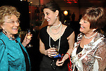 From left: Wanda Sorsby, Rebecca Chapman and Patti Wilburn at the Social Book 2010 launch party at Discovery Green Park Thursday Jan. 21,2010.(Dave Rossman/For the Chronicle)