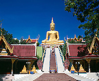 Thailand, island Ko Samui, Big Buddha at peninsula Ko Fan
