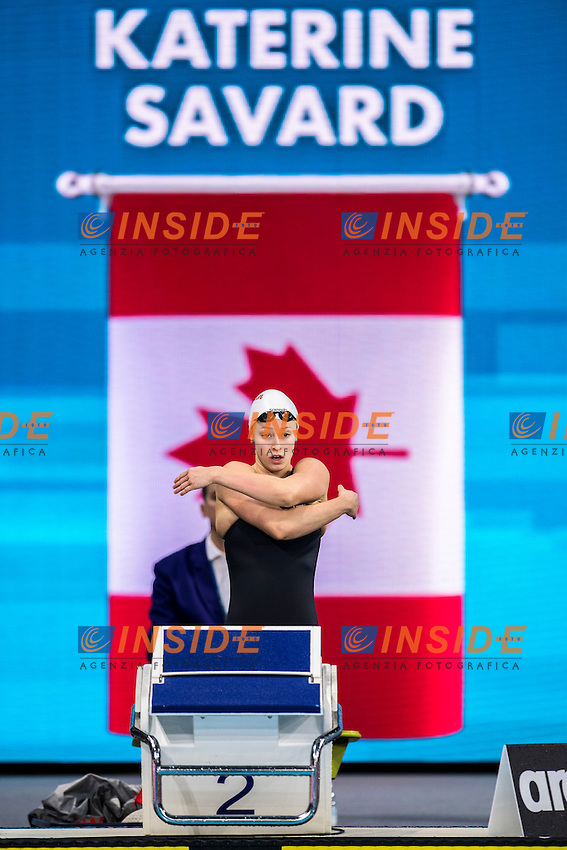 SAVARD Katerine CAN<br /> Women's 50m Butterfly<br /> 13th Fina World Swimming Championships 25m <br /> Windsor  Dec. 8th, 2016 - Day03 Finals<br /> WFCU Centre - Windsor Ontario Canada CAN <br /> 20161208 WFCU Centre - Windsor Ontario Canada CAN <br /> Photo &copy; Giorgio Scala/Deepbluemedia/Insidefoto