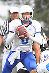 Palos Verdes, CA 09/16/11 - Lukas O'Connor (Culver City #3) in action during the Culver City-Peninsula varsity football game.