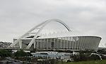 WM 2010, STADIONANSICHT des Moses Mabhiida football stadium, WM-Stadion in Durban