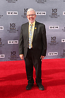 """Los Angeles CA Apr 11: Leonard Maltin, arrive to 2019 TCM Classic Film Festival Opening Night Gala And 30th Anniversary Screening Of """"When Harry Met Sally"""", TCL Chinese Theatre, Los Angeles, USA on April 11, 2019 <br /> CAP/MPI/FS<br /> ©FS/MPI/Capital Pictures"""