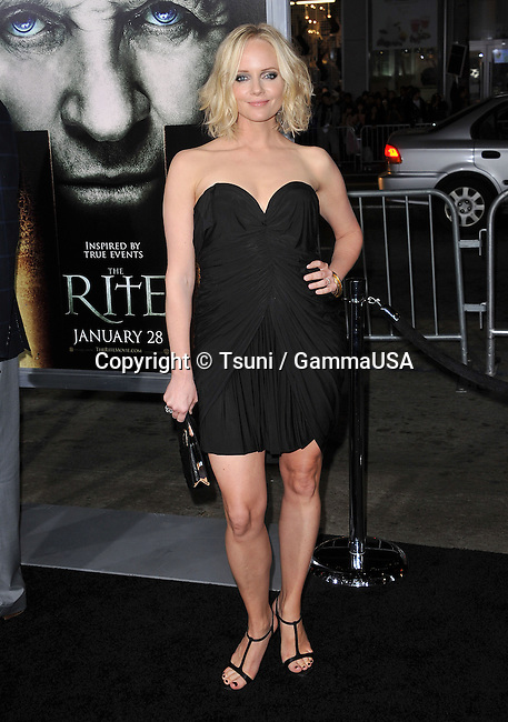 Marley Shelton - The Rite Premiere at the Chinese Theatre In Los Angeles.