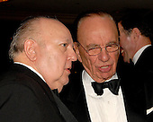 Washington, D.C. - April 21, 2007 -- Roger Ailes and Rupert Murdoch attend a party prior to the 2007 White House Correspondents Association dinner at the Washington Hilton in Washington, D.C. on Saturday evening, April 21, 2007..Credit: Ron Sachs / CNP                                                              (NOTE: NO NEW YORK OR NEW JERSEY NEWSPAPERS OR ANY NEWSPAPER WITHIN A 75 MILE RADIUS OF NEW YORK CITY)
