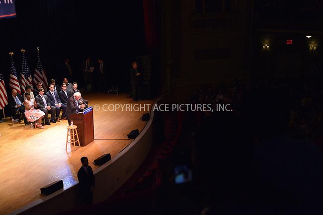 www.acepixs.com<br /> <br /> June 23 2016, New York City<br /> <br /> Senator Bernie Sanders held a rally at Town Hall on June 23 2016 in New York City<br /> <br /> By Line: Curtis Means/ACE Pictures<br /> <br /> <br /> ACE Pictures Inc<br /> Tel: 6467670430<br /> Email: info@acepixs.com<br /> www.acepixs.com