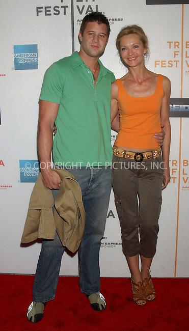 WWW.ACEPIXS.COM . . . . . ....NEW YORK, MAY 6, 2006....Josh Stolz and Joan Allen at the Premiere Of Poseidon At The 5th Annual TFF.....Please byline: KRISTIN CALLAHAN - ACEPIXS.COM.. . . . . . ..Ace Pictures, Inc:  ..(212) 243-8787 or (646) 679 0430..e-mail: picturedesk@acepixs.com..web: http://www.acepixs.com